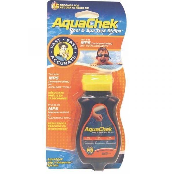 Bandelette_analyse_Aquachek_oxygène_actif_ph_tac